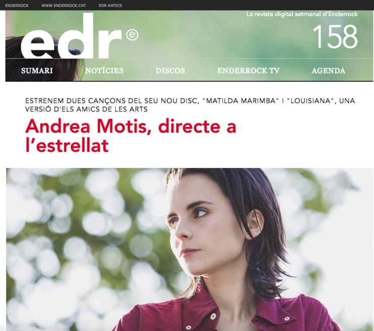 Andrea Motis, directe a l'estrellat